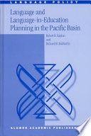 Language and Language in Education Planning in the Pacific Basin