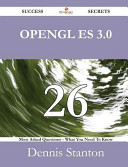 Opengl Es 3  0 26 Success Secrets   26 Most Asked Questions on Opengl Es 3  0   What You Need to Know