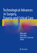 download ebook technological advances in surgery, trauma and critical care pdf epub