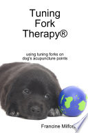 Tuning Fork Therapy   using tuning forks on dog s acupuncture points