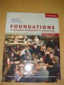 Activity Guide For Foundations Of Restaurant Management And Culinary Arts