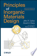 Principles of Inorganic Materials Design