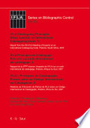 IFLA Cataloguing Principles  Steps towards an International Cataloguing Code  5   IFLA Principes de Catalogage  Pas vers un code international de catalogage  5   IFLA Princ  pios de Cataloga    o  Passos a fazer um C  digo de Cataloga    o Internacional  5