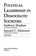 Political leadership in democratic societies
