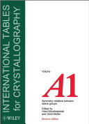 International Tables for Crystallography  Symmetry Relations between Space Groups