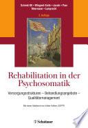 Rehabilitation in der Psychosomatik