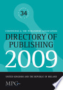 Directory of Publishing 2009 Authoritative Detailed Trade Directory Available For The United