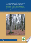 Review of Forests  Wood Products and Wood Biotechnology of Iran and Germany