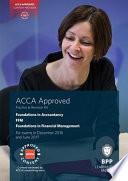 FIA Foundations in Financial Management FFM