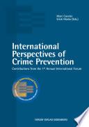 International Perspectives of Crime Prevention
