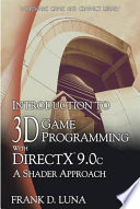 Introduction to 3D Game Programming with DirectX 9 0c  A Shader Approach