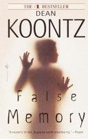 False Memory-book cover