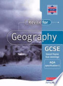 Revise for Geography GCSE AQA Specification C