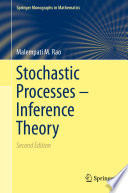 Stochastic Processes   Inference Theory