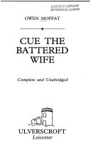 Ebook Cue the Battered Wife Epub Gwen Moffat Apps Read Mobile