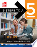 5 Steps to a 5 AP English Language  2012 2013 Edition