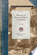 Memoirs of General William T  Sherman