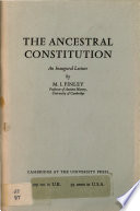 The Ancestral Constitution