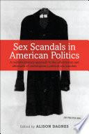 Sex Scandals in American Politics