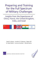 Preparing And Training For The Full Spectrum Of Military Challenges