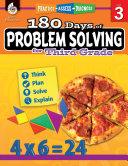 180 Days of Problem Solving for Third Grade  Practice  Assess  Diagnose  ePub 3