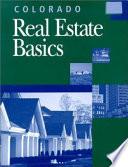 Colorado Real Estate Basics