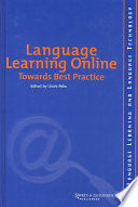 Language Learning Online  Towards Best Practice