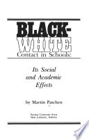 Black-White Contact in Schools