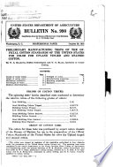 Preliminary Manufacturing Tests of the Official Cotton Standards of the United States for Color for Upland Tinged and Stained Cotton