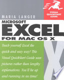 Excel X for Mac OS X