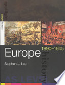 Europe  1890 1945