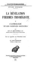 La r  v  lation d Herm  s Trism  giste  L astrologie et les sciences occultes