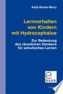 Lernverhalten von Kindern mit Hydrocephalus