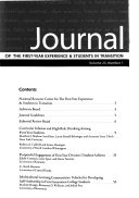 Journal of the First Year Experience and Students in Transition