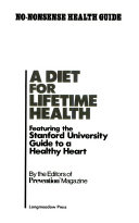 A Diet for Lifetime Health