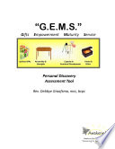 G E M S Personal Discovery Assessment Tool