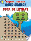 English Spanish Word Search Sopa De Letras