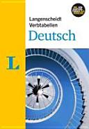 Langenscheidt, Verbtabellen Deutsch
