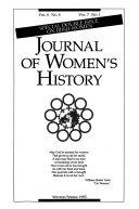 Journal of Women s History Book PDF