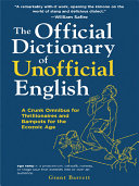 download ebook the official dictionary of unofficial english pdf epub