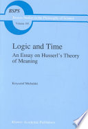 Logic and Time