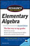 Schaum s Easy Outline of Elementary Algebra  Second Edition