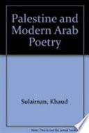 Palestine and Modern Arab Poetry