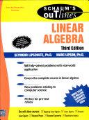 Linear Algebra  3 E  Sos