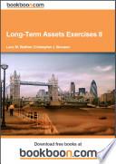 Long Term Assets Exercises II