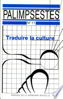 Traduire la culture  articles and abstracts