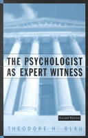 The Psychologist as Expert Witness