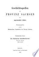 Die Hallischen Schöffenbücher: T. 1401-1460