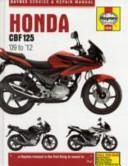 Honda CBF125 Service and Repair Manual  2009 to 2011