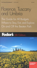 Fodor s Florence  Tuscany  and Umbria